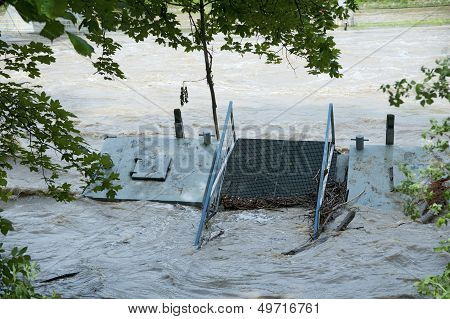 Flooded Pier