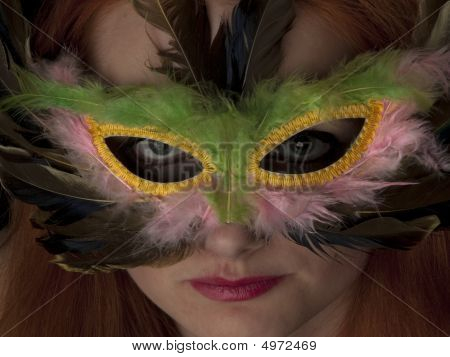 Lady In Mask