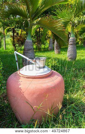 Earthen Water Jar