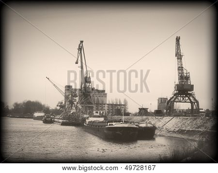 port on the Danube