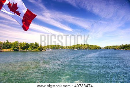 Lake Ontario Saint Lawrence River And Thousand Islands National Park Canada