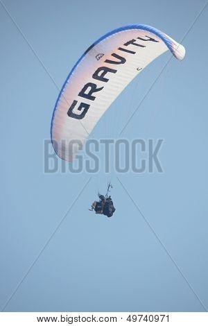 Paragliding at 0ludeniz, Turkey