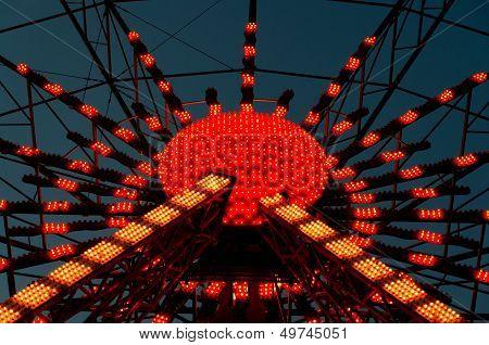 Illuminated Ferris Wheel