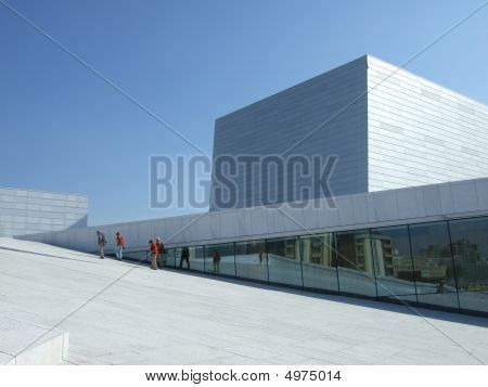 Norway's New Operahouse - Detail