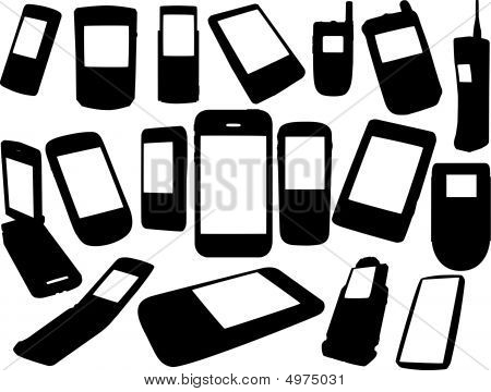 Cell Phones Set
