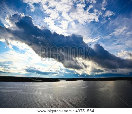 Seascape in Sweden