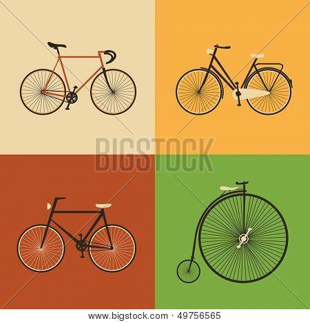 Retro Icons - Bicycle