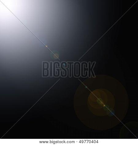 Space Sun Lens Flare