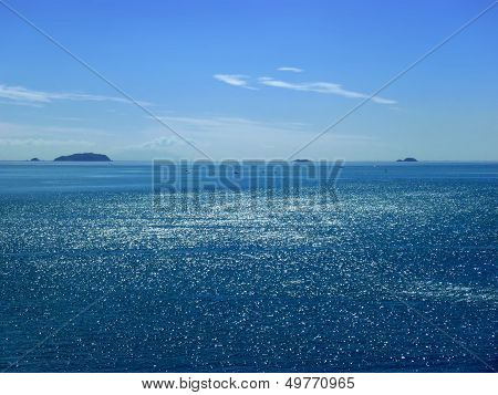 View Onto The Blue Sea