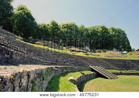 The Amphitheatre Of Autun
