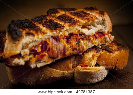 Toasted sandwich.