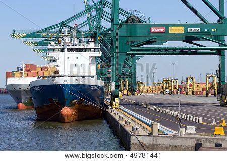 Antwerp Harbor
