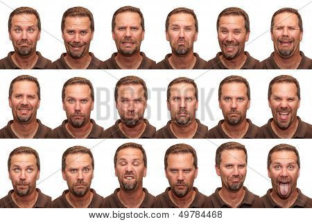 Expressions - Middle Aged Man