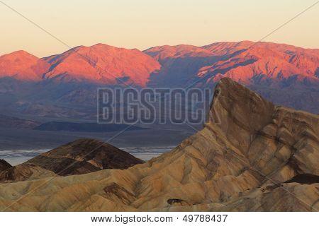 Zabriski Point At Sunrise