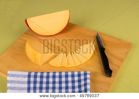 Gouda Cheese Wedge