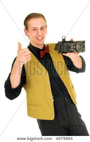 News Reporter, Retro Style