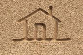 stock photo of mud-hut  - house - JPG