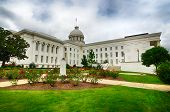 picture of alabama  - View of state capitol in Montgomery - JPG