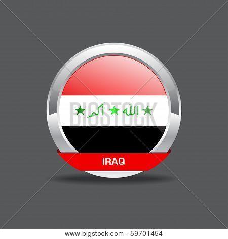 Iraq Flag Vector Icon