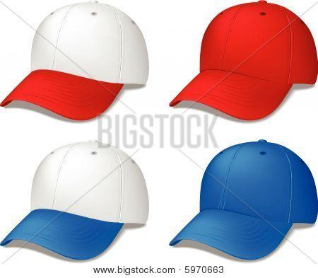 Baseball Cap - realistic vector illustration