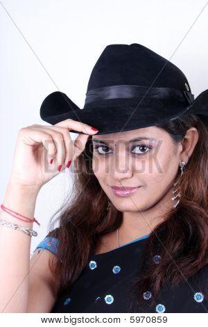 Cowgirl In Sari