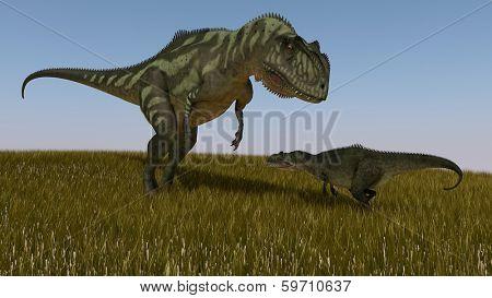 yangchuanosaurus vs yangchuanosaurus