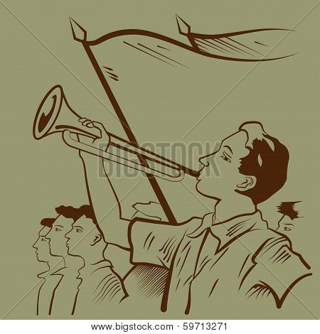 Young Trumpeter