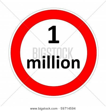 One million speed limit