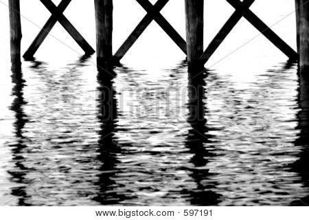 Wrinkled Pier