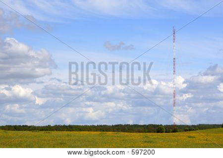 Antenna On The Sky