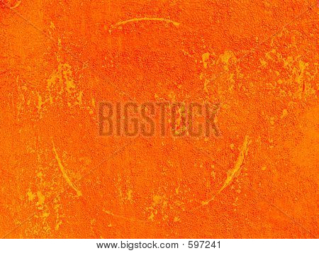 Abstract Orange Ground Texture