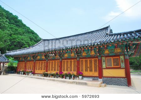Korean Temple Architecture