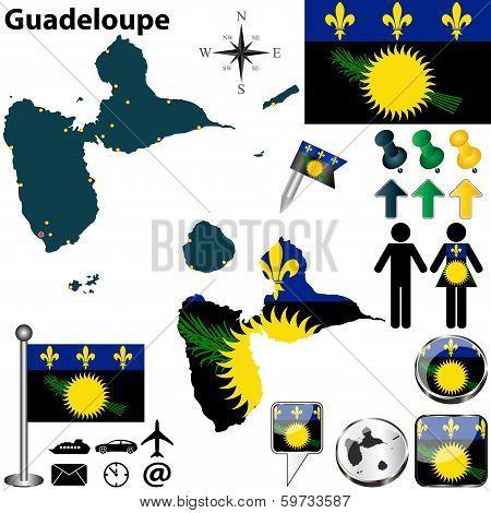 Map Of Guadeloupe