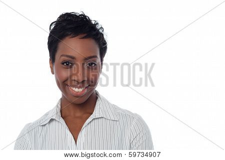 Attractive African Woman Posing