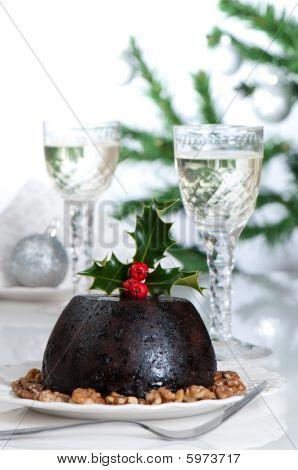 Christmas Pudding Table