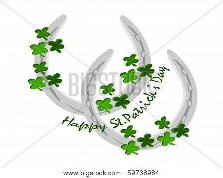 Horseshoe Silver St. Patricks Day