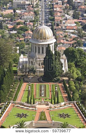 The Bahai Shrine Of The Bab