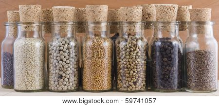 Spice Jars Collection