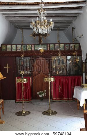 Inside An Orthodox Church