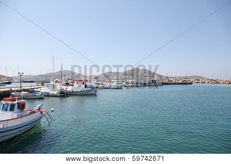 Paros Chora In Greece