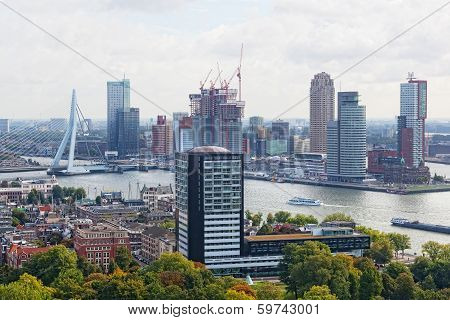 City views Rotterdam