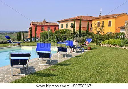 TUSCANY, ITALY - MAY 01 - 2009.