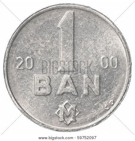 1 Moldovan Bani Coin
