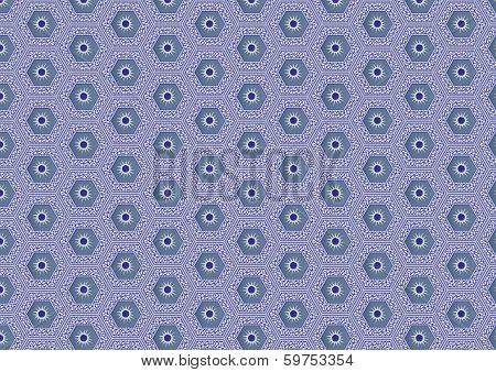 Hexagonal Tile Pattern