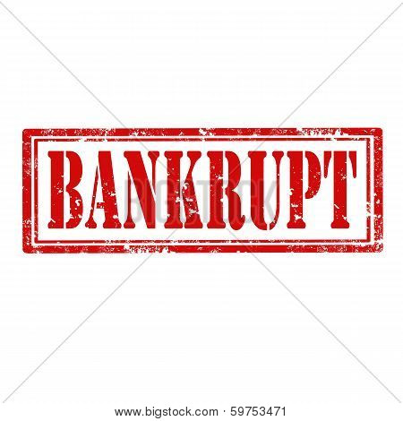 Bankrupt-stamp