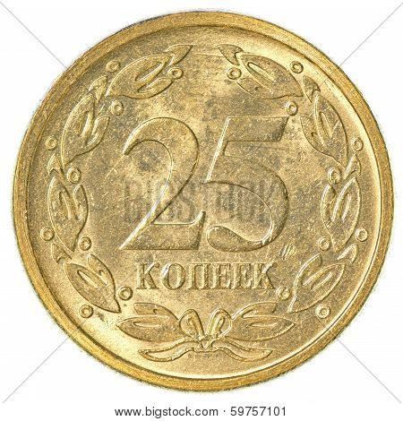 25 Transnistrian Kopeck Coin