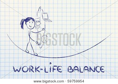 Work Life Balance & Managing Responsibilities: Working Mother Juggling