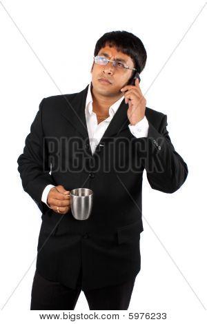 Businessman In Break