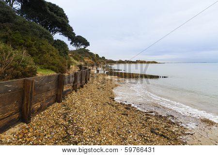 Lepe Beach, Hampshire, England, United Kingdom.