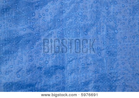 Raindrops On Tarp